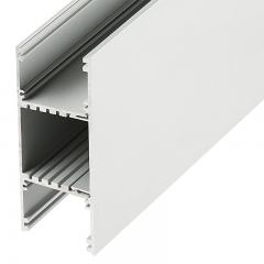 """3-1/2"""" Wide Up/Down Aluminum Profile Housing for LED Strip Lights - Anodized Aluminum LED Channel"""