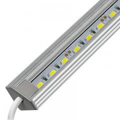 Corner Mount Aluminum LED Light Bar Fixture - 1,440 Lumens