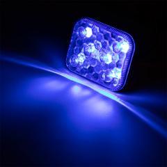 Self-Adhesive Vehicle LED Strobe Light - 6 Watt - Low Profile Warning Light