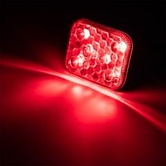Self-Adhesive Vehicle LED Strobe Light - 6 Watt - Low Profile Warning Light