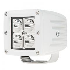 "LED Boat Light - 3"" Square Spot or Spreader Light - 13W - 678 Lumens"