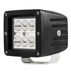 "LED Light Pod - 3"" Square LED Work Light - 18W - 1,440 Lumens"