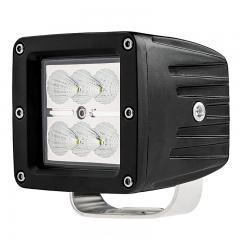 "LED Light Pod - 3"" Square 18W Off Road Driving Light"