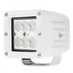 "LED Boat Light - 3"" Square Spot or Spreader Light - 18W - 1,440 Lumens"