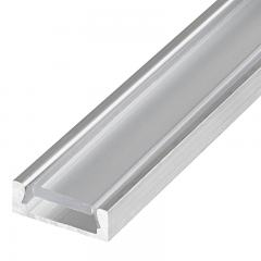 Low Profile Surface Mount LED Profile Housing for LED Strip Lights - MICRO-ALU Series