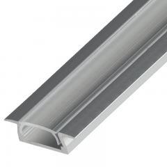 Flush Mount Aluminum Profile Housing for LED Strip Lights - KLUS MICRO-K Series