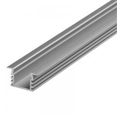 Deep Flush Mount Aluminum Profile Housing for LED Strip Lights - KLUS PDS4-K Series