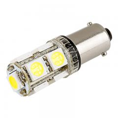 BA9s LED Bulb - 9 SMD LED Tower - BA9s Bulb