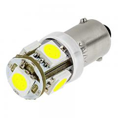 BA9s LED Bulb - 5 SMD LED Tower - BA9s Bulb - Green