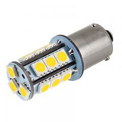 7507 (PY21W) LED Bulb - 18 SMD LED Tower - BAU15S Bulb - Warm White