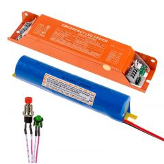 In-Fixture Compact Emergency LED Driver and Battery Pack - 8W - 24-48 VDC