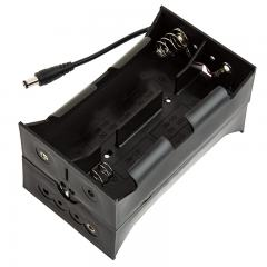 12V DC Battery Power Supply - 8 Cell D Battery Holder