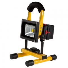 10W Portable Rechargeable LED Work Light w/ USB Charger/Power Bank and Removable Battery - Dimmable - 4000K - 570 Lumens