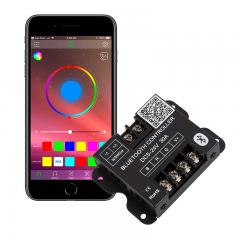 Bluetooth RGB LED Controller - Smartphone Compatible - 10 Amps/Channel