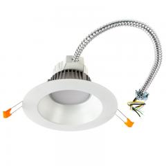 "6"" Commercial LED Downlight - 18 Watt Recessed Retrofit/New Construction Light - 1,600 Lumens - 100 Watt Equivalent"