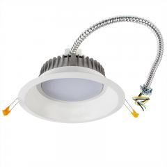 "8"" Commercial LED Downlight - 25 Watt Recessed Retrofit/New Construction Light - 2,500 Lumens - 150 Watt Equivalent"