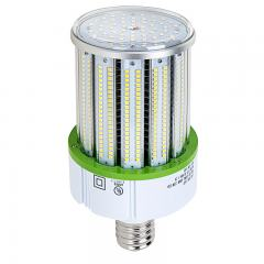 80W LED Corn Bulb - 9,300 Lumens - 250W Equivalent Metal Halide - E39 Mogul Base - 5000K/4000K