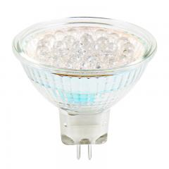 Color-Changing MR16 LED Bulb - 15 Watt Equivalent - 12V AC/DC - Bi-Pin LED Spotlight Bulb