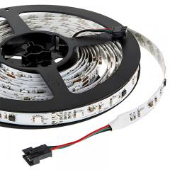 Color Chasing RGB LED Light Strip - LED Tape Light with 9 SMDs/ft. - 3 Chip RGB SMD LED 5050