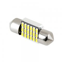 DE3022 CAN Bus LED Bulb - 18 SMD LED Festoon - 31mm - 90 Lumens - Cool White