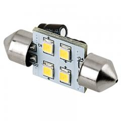 DE3175 LED Light Bulb - (4) SMD LED Festoon Bulb - 3022 Base