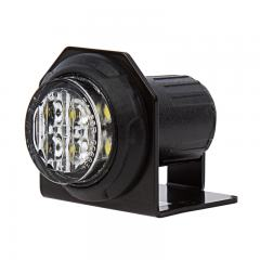 LED Hideaway Strobe Lights - Mini Emergency Vehicle LED Warning Lights w/ Built-In Controller - Surface or Flush Mount