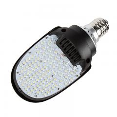 36W LED Paddle/Shoebox Bulb for HID Lamps - 4,200 Lumens - 150W Equivalent Metal Halide - E39 Mogul Base - Ballast Bypass - 5000K/4000K