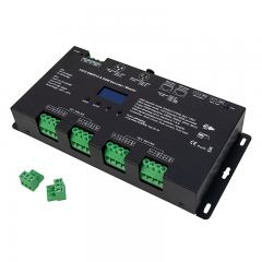 12 Channel LED DMX512 and RDM Decoder / Master - 5A/CH - 12-24V - OLED Display