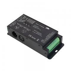 DMX512 SPI Decoder - Digital RGB Addressable LED Decoder/Controller - 5-24 VDC