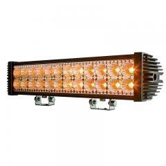 "18"" Dual-Row Off-Road Amber LED Light Bar - 45W - 1,950 Lumens"