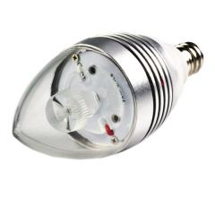 B10 LED Decorative Light Bulb - 10 Watt Equivalent Candelabra LED Bulb w/ Blunt Tip - 90 Lumens