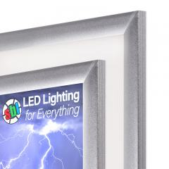 Ultra-Thin LED Light Box Panels w/ Custom-Printed LUXART® Diffuser