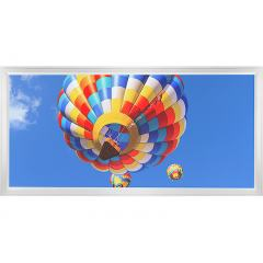 LED Skylight w/ Balloon 2 Skylens® - 2x4 Dimmable LED Panel Light - Flush Mount/Drop Ceiling
