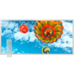Tunable White LED Skylight w/ Balloon 3 Skylens® Diffuser - 2x4 Dimmable LED Panel Light - Drop Ceiling