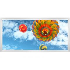 LED Skylight w/ Balloon 3 Skylens® - 2x4 Dimmable LED Panel Light - Surface Mount/Drop Ceiling