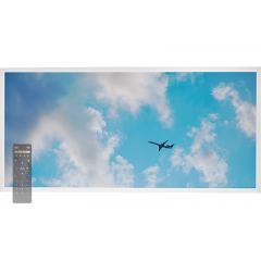 Tunable White LED Skylight w/ Jet Set SkyLens® - 2x4 Dimmable LED Panel Light - Drop Ceiling