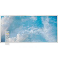 Tunable White LED Skylight w/ Summer Skylens® Diffuser - 2x4 Dimmable LED Panel Light - Drop Ceiling
