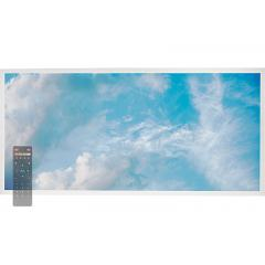 Tunable White LED Skylight w/ Summer SkyLens® - 2x4 Dimmable LED Panel Light - Drop Ceiling