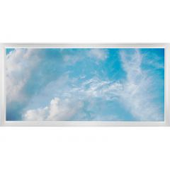 LED Skylight w/ Summer Skylens® - 2x4 Dimmable LED Panel Light - Surface Mount/Drop Ceiling