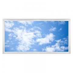 LED Skylight w/ Lazy Day Skylens® - 2x4 Dimmable LED Panel Light - Surface Mount/Drop Ceiling