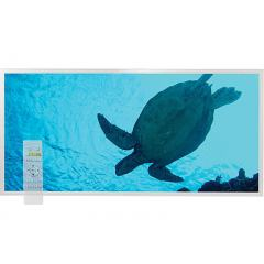 Tunable White LED Skylight w/ Sea Turtle Skylens® Diffuser - 2x4 Dimmable LED Panel Light - Drop Ceiling