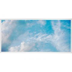 LED Skylight w/ Summer Skylens® - 2x4 Dimmable LED Panel Light - Drop Ceiling