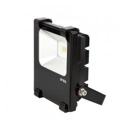10W Color-Changing Wi-Fi LED Flood Light - RGB+White - Smartphone Compatible or w/ Optional Remote