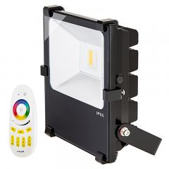Color Changing LED Flood Lights - MiLight 50 Watt RGBW Flood Fixture w/ Wifi Remote