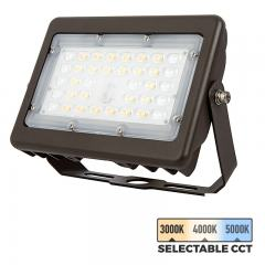 15W LED Flood Light - Selectable Color Temperature - 3000K/4000K/5000K - 70W MH Equivalent- 2,000 Lumens