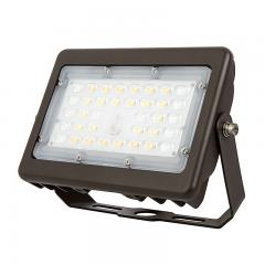 15W LED Flood Light - Selectable Color Temperature - 3000K/4000K/5000K - 70W MH Equivalent- 2,000 Lumens