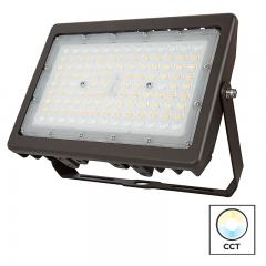 70W LED Flood Light - Selectable Color Temperature - 3000K/4000K/5000K - 250W MH Equivalent - 9,400 Lumens
