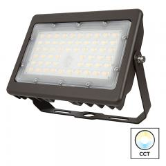 50W LED Flood Light - Selectable Color Temperature - 3000K/4000K/5000K - 175W MH Equivalent - 6,600 Lumens