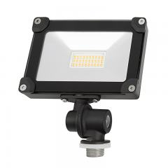 10 Watt Knuckle-Mount LED Flood Light - 1,100 Lumens - 75 Watt Incandescent Equivalent - 5000K/4000K/3000K