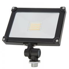 20 Watt Knuckle-Mount LED Flood Light - 2,200 Lumens - 50 Watt MH Equivalent - 5000K/4000K/3000K